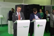3data Network and Schneider Electric sign joint agreement