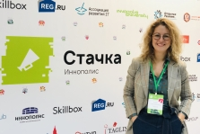 Took part in the conference «Stachka» in Innopolis