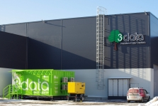 3data launched the first data center for a franchise in the Moscow region